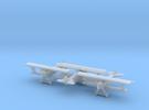 1/285 Fokker DVII  x3 in Frosted Ultra Detail