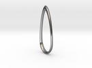 Sweep: Teardrop Pendant in Premium Silver