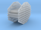 Mid Racks 2-pack for Rail Train HO in Frosted Ultra Detail