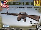 1-18 Armalite XM-10 Set in Frosted Ultra Detail