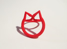 catring size 7 in Red Strong & Flexible Polished
