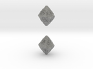 ANCIENT RELICS d10 d00 in Metallic Plastic