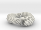Fusilli 843 in White Strong & Flexible