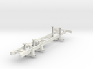 Cargo Truck Frame(1:18 Scale) in White Strong & Flexible