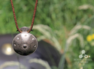 Handpan Instrument Pendant in Stainless Steel