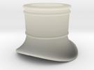 Skorstensfod Litra-R H0-STL in Transparent Acrylic
