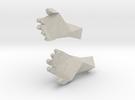 Handsles2objruststl in Sandstone