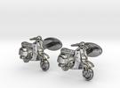 Vespa Cufflinks. in Premium Silver