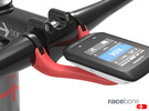RaceBone: Garmin Handlebar Mount in Red Strong & Flexible Polished