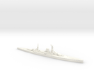 HMS Courageous 1/1800 (as built) in White Strong & Flexible Polished