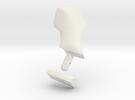 Tamiya Jimny hood mirror (MF01-X) in White Strong & Flexible
