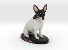 Custom Dog Figurine - Sugar in Full Color Sandstone