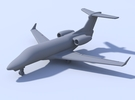 1:400 - Phenom 300 in Frosted Ultra Detail