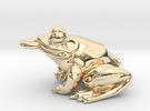 Frog Pendant Alone in 14K Gold