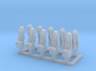 025E Martin-Baker Seats - 1/100 - set of 10 in Frosted Ultra Detail