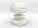 Huge Mushroom Cloud in White Strong & Flexible
