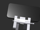 QuadPod for iPhone 5  in White Strong & Flexible