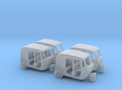 Auto Rickshaw / Tuk Tuk x4 HO-Scale 1:87 in Frosted Ultra Detail