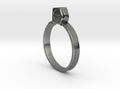 Tape Measure Ring - US Size 09.5 in Premium Silver