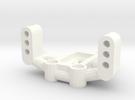 Mrc Servo Mount in White Strong & Flexible Polished