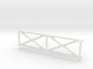 Side Booster Frame in White Strong & Flexible Polished