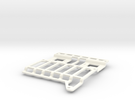 Amiga 3000 HDD Mount in White Strong & Flexible Polished