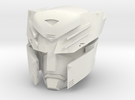 """""""Autoboticus"""" custom 1:6th scale head in White Strong & Flexible"""