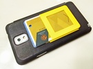 $10.99 Kickstand Wallet, see youtube video. in Yellow Strong & Flexible Polished