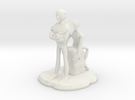 Cubus Figure in White Strong & Flexible