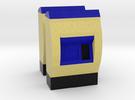[2st] Kaartjesautomaat 1:87/1:160 (H0/N) in Full Color Sandstone: 1:87