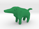Sobek Dog in Green Strong & Flexible Polished