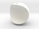 LunaLight-D140 in White Strong & Flexible Polished