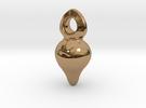 Gota  in Polished Brass