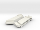 Plotter 1520 Coil Mounts (Left/Right) in White Strong & Flexible