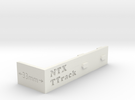 Ttrack Gauge in White Strong & Flexible