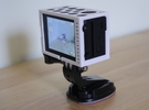 "GoPro Hero3 ""Touch'n'Batt"" Frame'ish (Frame) in White Strong & Flexible"