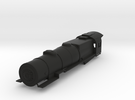 Prr L1 OO Scale Shell Boiler Cab and Walkways V. 2 in Black Strong & Flexible