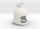 Helmet Grandizer V.39 in White Strong & Flexible