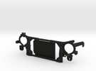 AJ10000 Mk1 radiator grill mount in Black Strong & Flexible