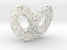 Lorenz Attractor  in White Strong & Flexible