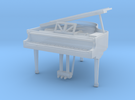Miniature 1:48 Baby Grand Piano in Frosted Ultra Detail