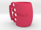 Cofee Mug Kiran1 in Pink Strong & Flexible Polished