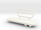 1.5 BIG SIDE STEP LAMA in White Strong & Flexible Polished