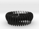 Duo-armband-L-helft in Black Strong & Flexible