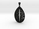 Filigree-hanger in Black Strong & Flexible
