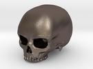 Skull in Stainless Steel