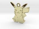POKEMON Pikachu Pendant (Smaller) in 18k Gold Plated
