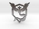 Team Mystic Pendant in Polished Nickel Steel