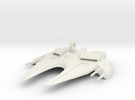 Space Ship Mirror Hanger in White Strong & Flexible