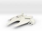 Space Ship Mirror Hanger in White Strong & Flexible